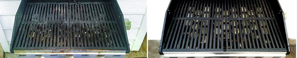 DC Grill Cleaning before and after